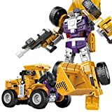 NMSLA 6 in 1 Trans Truck Transform Collection Tractor Robot Creative Combination Titan Robot Toys for Kids admired