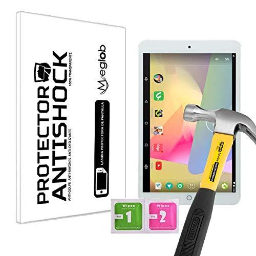Protector de Pantalla Anti-Shock Anti-Golpe Anti-arañazos Compatible con Tablet Irulu eXpro X1s 8