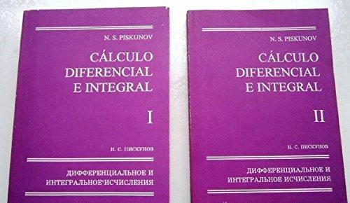 CALCULO DIFERENCIAL E INTEGRAL (2 VOLUMENES) - OBRA COMPLETA -