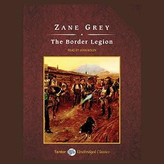 The Border Legion audiobook cover art