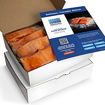 Amazon - 30% Off on Coho Salmon from Chile, 5 ounces, Frozen