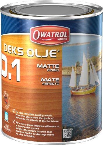 Deks Olje D1 (1 Liter) - Matte Finish by Owatrol