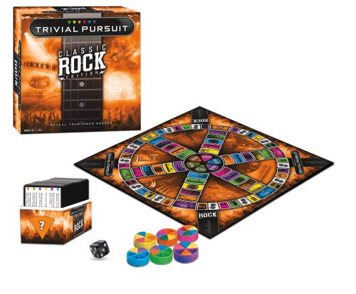 Trivial Pursuit Classic Rock Edition Board Game