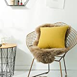 Almohada,Diseño ergonómico para un Mejor Soporte para Dormir en la Cabeza, el Cuello y los Hombros Almohada -cúrcuma_50 * 50cm