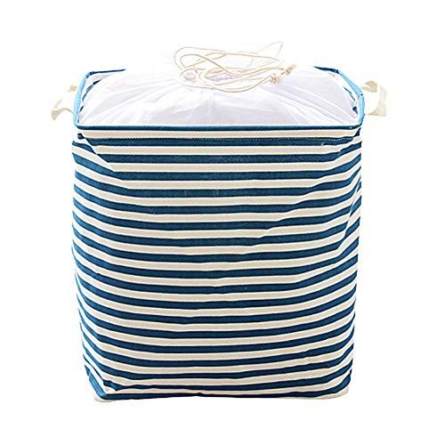 KANKOO Cesta Ropa Sucia Plegable cesto Ropa Sucia Bebé Cesta de lavandería Tela Cesta de Almacenamiento Canasta de Almacenamiento de Juguete