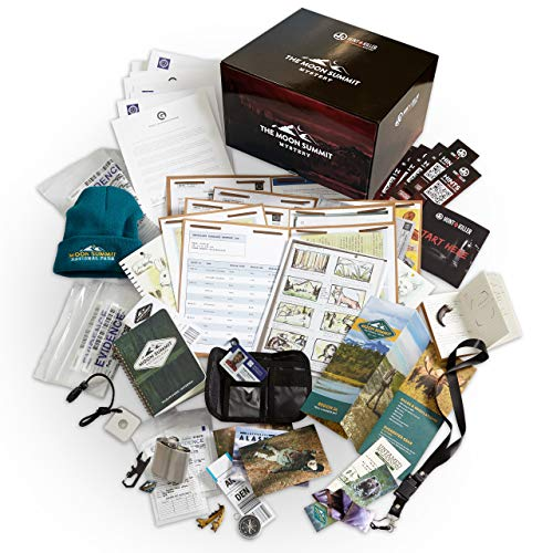 Hunt A Killer The Moon Summit Mystery Complete Box Set Special Edition, Murder Mystery Game, Unsolved Case for a Sole Detective or Multiple Date & Game Nights with Friends, Ages 14+ [Amazon Exclusive]