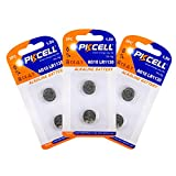 6PC(3 cards) Alkaline Coins Battery AG10 LR1130 389 LR54 L1131 189 LR54/189/L1130 for watches