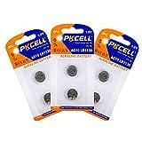 6PC(3 cards) Alkaline Coins Battery AG10 LR1130 389 LR54 L1131 189 LR54/189/L1130 for watches