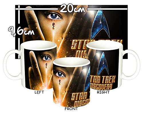 MasTazas Star Trek Discovery C Tasse Mug