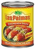 Las Palmas Enchilada Sauce, Medium, 19 Ounce (Pack of 12)