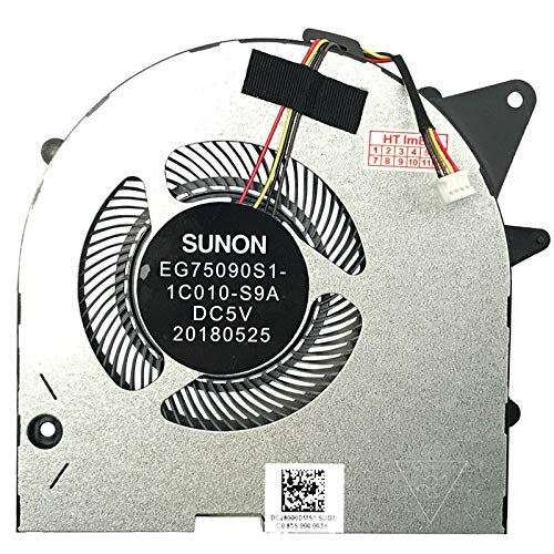 (GPU Version) Fan Cooler Compatible with Lenovo Legion Y530P, Legion Y7000, Legion Y7000-2019-PG0 (81T0), Legion Y530P (81LE), Legion Y7000P-1060 (81LF), Legion Y7000P (81LD)