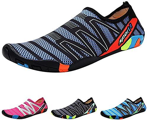 OldPAPA Zapatos de Agua para Hombre Zapatos de Secado Transpirables Antideslizantes Talla 44