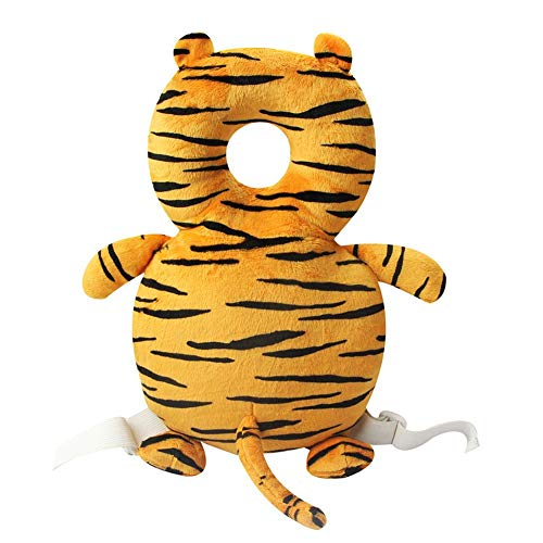 BEBIG Baby Head Protector Pillow Neck Safe Pad Headrest Backpack Cushion ——Tiger