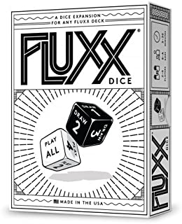 Looney Labs Fluxx Dice Expansion Card Game