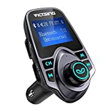 FM Transmitter, VicTsing Car MP3 Player FM Transmitter Bluetooth Handsfree Car Kit Wireless