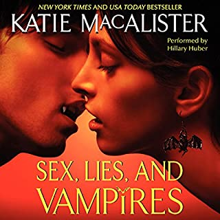 Sex, Lies, and Vampires audiobook cover art