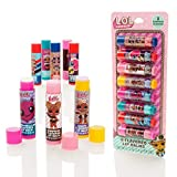 MGA Entertainment LOL Surprise - Paquete de 8 Barras de bálsamo Labial con Sabor - Set de Brillo de Labios para niñas
