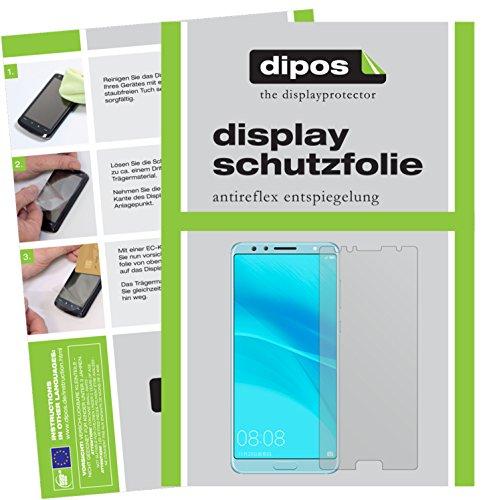 6X Schutzfolie matt kompatibel mit Huawei Nova 2S Folie Displayschutzfolie
