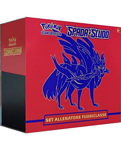 Pokémon - Caja de Entrenador Élite Espada y Escudo, edición Zacian (italiana)