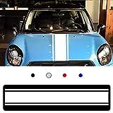 MODIFYCAR Bandas Laterales Mini Cooper-Cuadros Color Blanco Union Jack Countryman One R56 R57 R53 R50