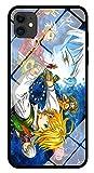 Funda para Teléfono Anime The Seven Deadly Sins Funda para iPhone con Brillo Nocturno Carcasa Protectora De Cristal Templado Moda Compatible with iPhone XS