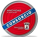 Anchoas en Aceite de Oliva Consorcio 550gr.
