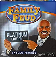 Family Feud, Platinum Edition Family Party Game, Kids and Adults