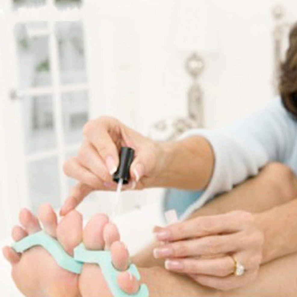 腹浜辺監督する20Pair Foam Toe Separator Nail Art Feet Care Bracelet Support Toe Finger Separators Pendicure Tools Soft EVA Material