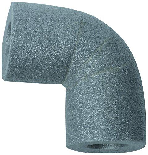 CLIMAPOR Bogen 90° zu Rohrisolierungen PE 28/13, grau, 5 Stück