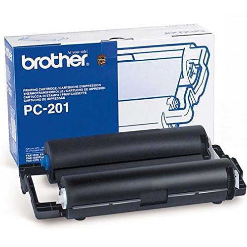 Price comparison product image Brother PC-201 Ink Cartridge - Black - Retail Packaging