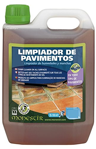 LIMPIADOR PAVIMENTOS EXTERIORES ANTIMOHO 5L MONESTIR