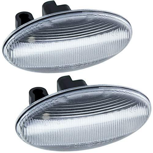 rm-style Intermitentes LED para C1, C2, C3, C4, C5, C6, cristal transparente 7606