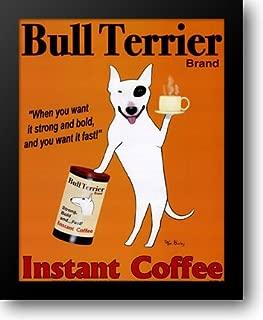 Bull Terrier Brand 15x18 Framed Art Print by Bailey, Ken