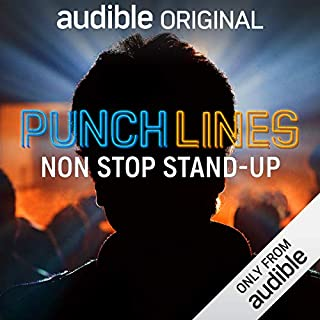 Punchlines audiobook cover art