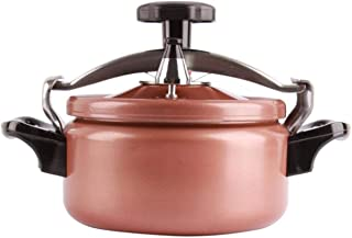 Pressure cooker, explosion-proof mini pressure cooker, small pressure cooker, induction cooker gas universal 2L, 3L (Color : Pink, Size : 3L)