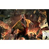 Monty Arts Dead Island Poster by Silk Printing # Size About (96cm x 60cm, 38inch x 24inch) # Unique Gift # D2A649