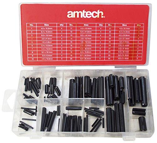 5 Pièces Taille Unique Amtech E1360 ingénieur Fichier Set avec deux tons poignée
