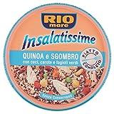 Rio Mare - Insalatissime Quinoa e Sgombro, con Ceci, Carote e Fagioli Verdi, Senza Conservanti, 1 Lattina da 220g con Forchettina Inclusa