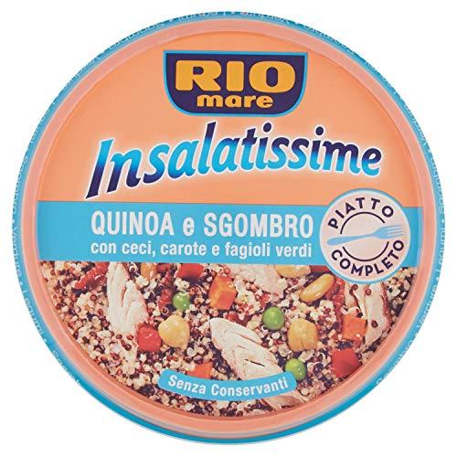 Rio Mare - Insalatissime Quinoa e Sgombro, con Ceci, Carote...