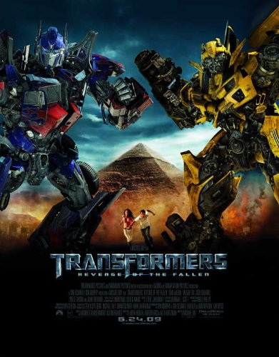 Movie Posters 11 x 17 Transformers 2: Revenge of The Fallen
