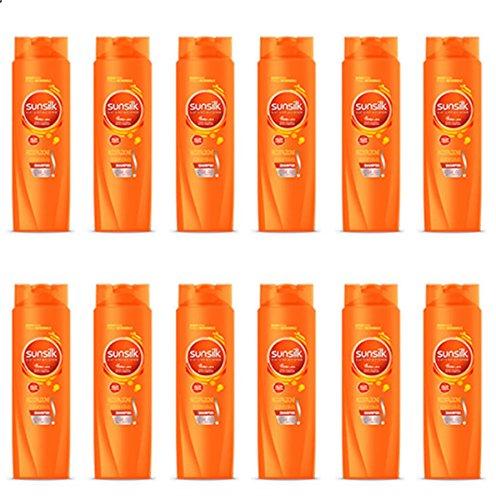 12x Shampoo für Haar Wiederaufbau Intensive SUNSILK Angebot in Stock