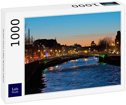 Puzzle Río Dublín Puente Liffey Irlanda 1000 Piezas