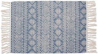 comprar comparacion Home Gadgets Alfombra Salon o Habitacion Grande Etnic Azul 60x90 cm