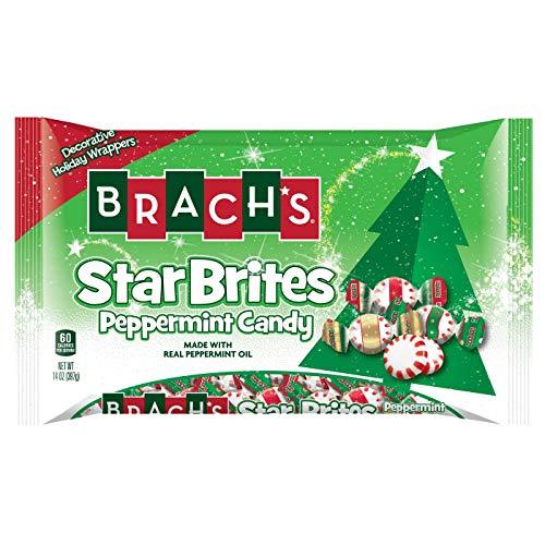 Brach's Peppermint Starbrites Holiday Wraps, 14 Ounce