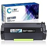 LxTek Compatible Toner Cartridge Replacement for Lexmark 50F1000 to use with MS610dn MS510dn MS415dn MS610de MS310d MS312dn MS410dn MS310dn MS410d Printers (Black, 1 Pack)