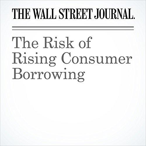 The Risk of Rising Consumer Borrowing copertina