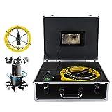 Cámara Vigilancia Cámara Endoscópica LCD 7in 50m 360 ° Alcantarilla Endoscópica Industrial IP68 38LED Inspección Tubo De Drenaje Cámara De Borajos 100-240V AU