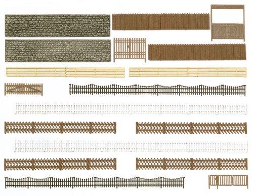 Busch 6017 H0 Zäune, Mauern, Tore