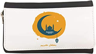 Ramadan kareem Printed Leather Case Wallet
