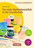 Lehrerbücherei Grundschule: Für mehr Methodenvielfalt in der Grundschule: Buch mit Kopiervorlagen über Webcode